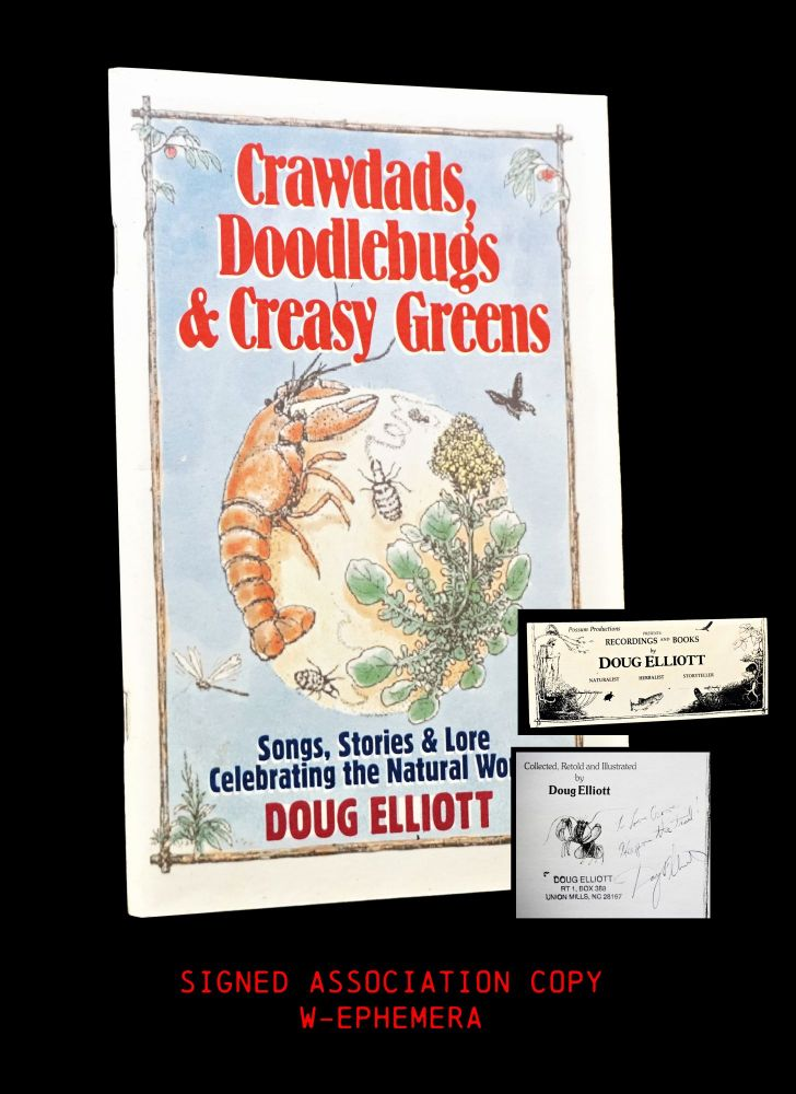 Crawdads, Doodlebugs & Creasy Greens: Songs, Stories & Lore Celebrating the Natural World with: ...