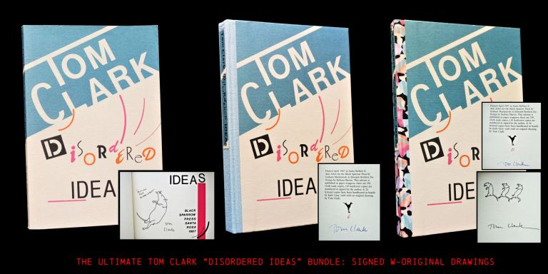 Disordered Ideas (Three Editions). Tom Clark