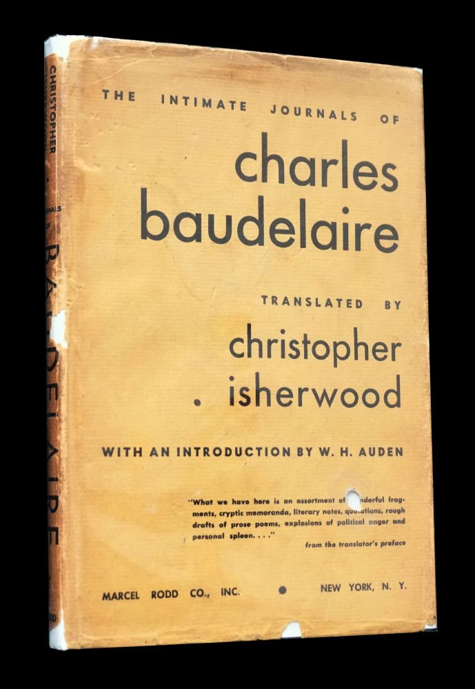 The Intimate Journals of Charles Baudelaire. Charles Baudelaire