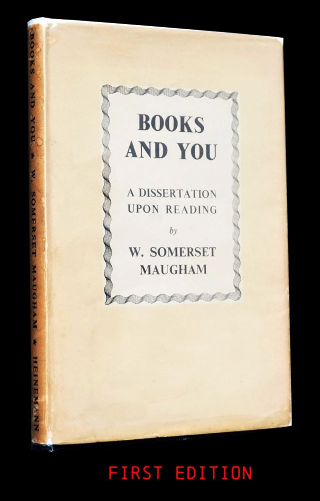 Books And You. W. Somerset Maugham