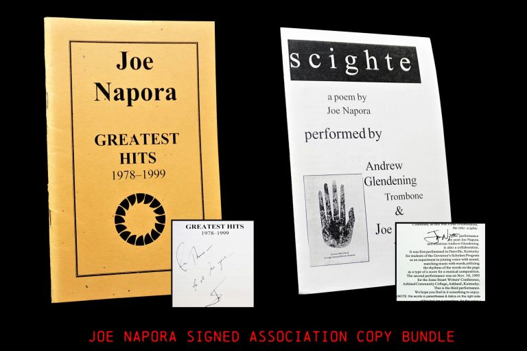 "Greatest Hits 1978-1999 with: ""Scighte"" Performance Pamphlet. Joe Napora"