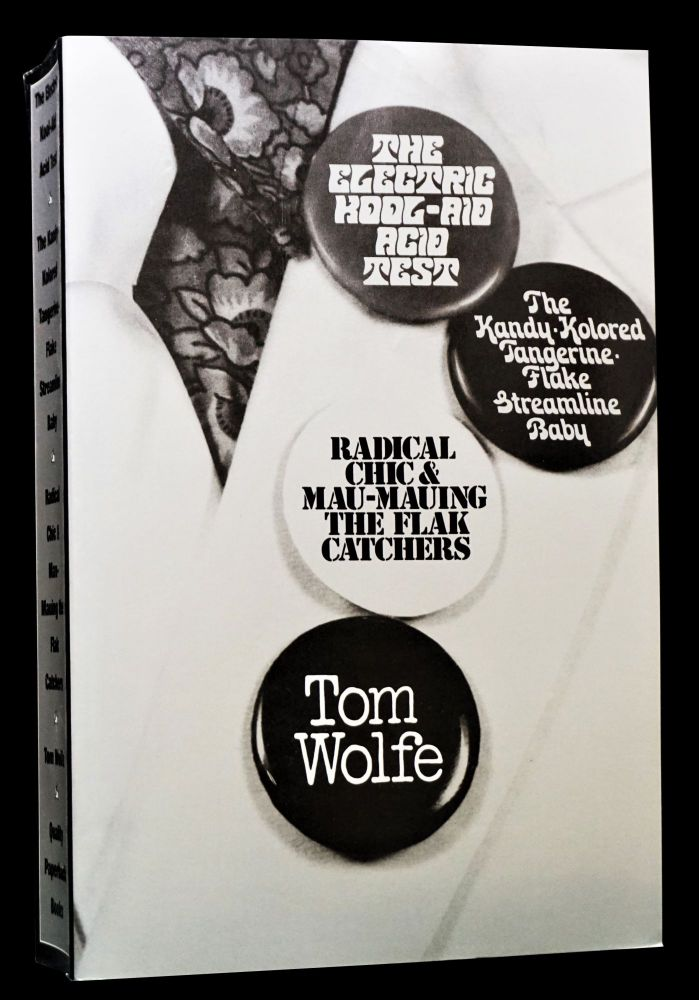 3 Essential Works by Tom Wolfe: The Electric Kool-Aid Acid Test, The Kandy Colored...