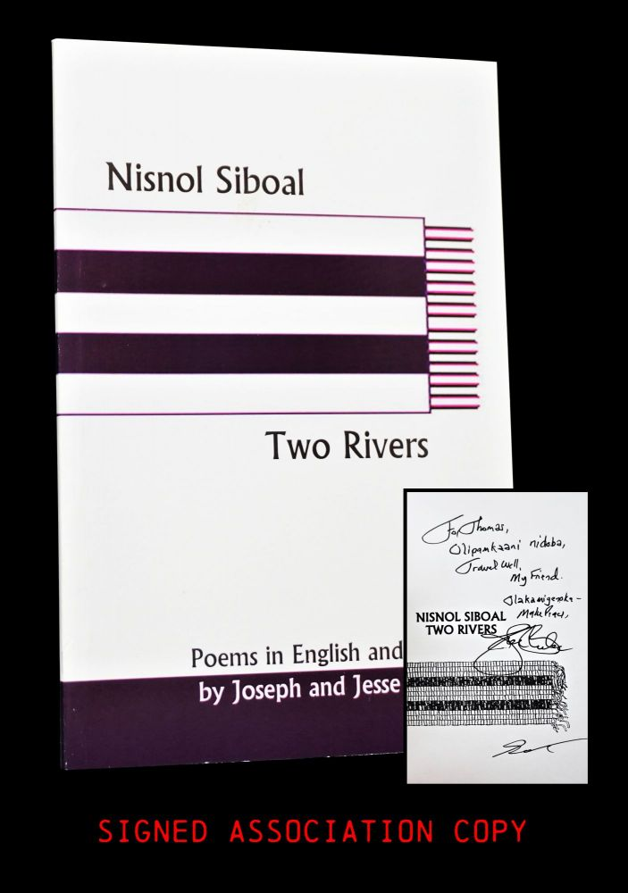 Nisnol Siboal/ Two Rivers: Poems in English and Abenaki. Joseph Bruchac, Jesse Bruchac.