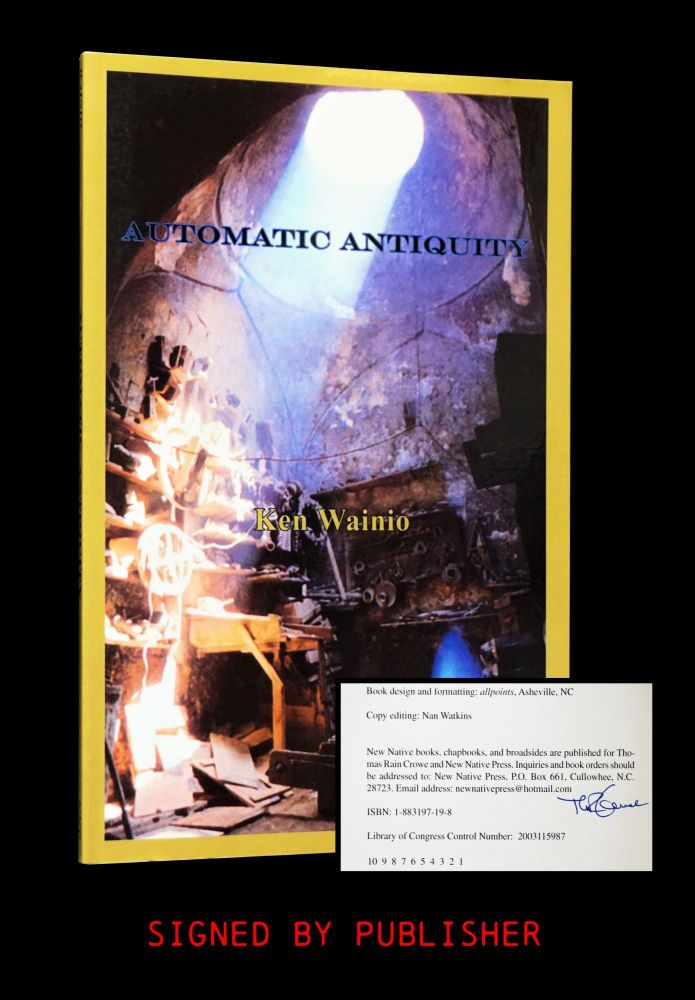 Automatic Antiquity. Ken Wainio