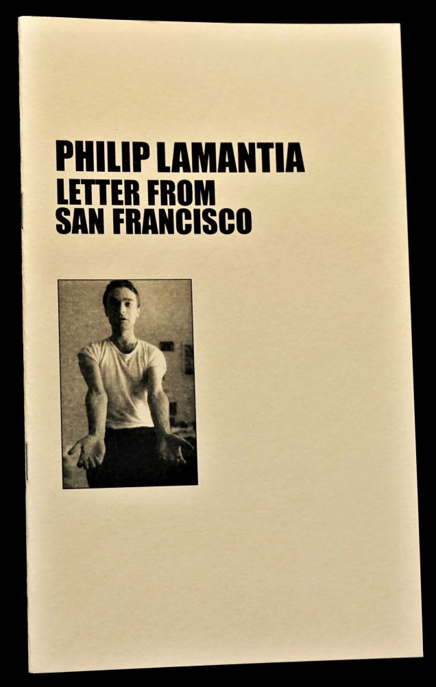 Letter from San Francisco. Philip Lamantia