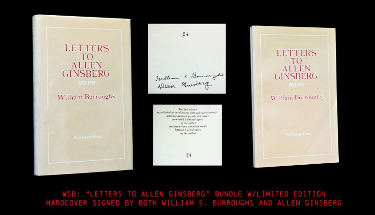 Letters to Allen Ginsberg: 1953-1957 (The Signed & Numbered Limited Edition of 1982, with: First...