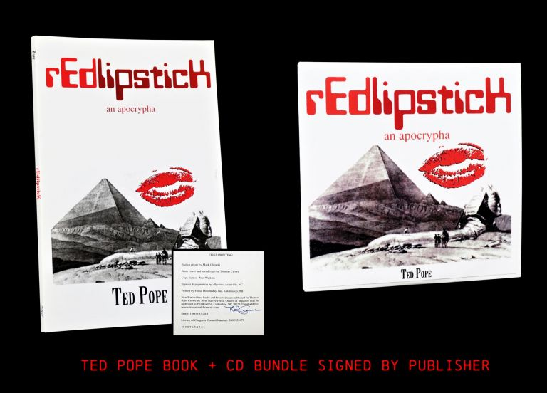 rEdlipsticK: An Apocrypha (Book & CD Versions). Ted Pope.
