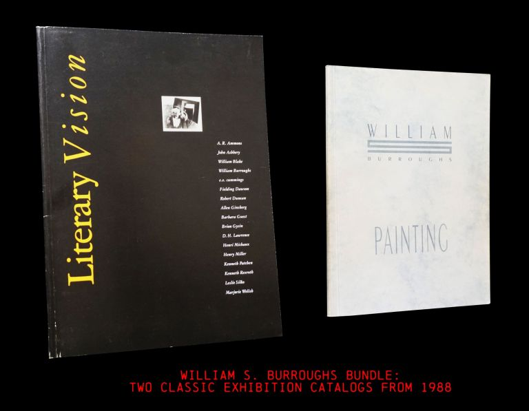 Literary Vision (a Catalog from the 1988 Tilton Gallery Exhibition) [1] with: Painting (a Catalog...