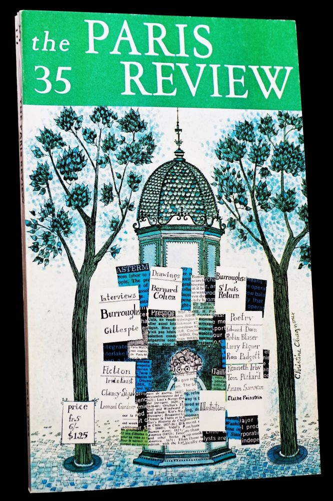 The Paris Review Vol. 9 No. 35 (Fall 1965). George Plimpton, William S. Burroughs, Edward Dorn, Charles Henri Ford, Dizzy Gillespie, Ron Padgett, Aram Saroyan.
