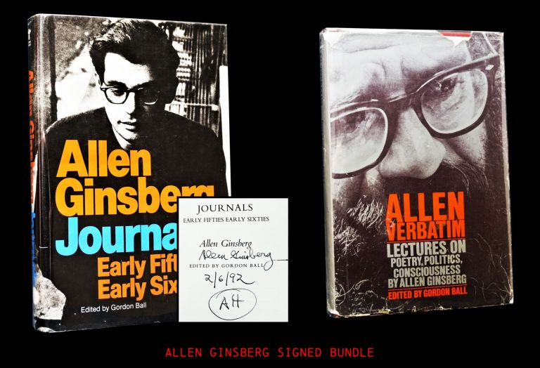 Allen Ginsberg Journals Early Fifties- Early Sixties with: Allen Verbatim: Lectures on Poetry, Politics, Consciousness. Allen Ginsberg.