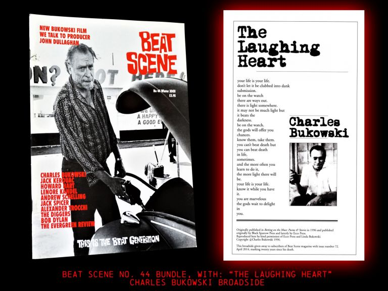 Beat Scene No. 44 (Winter 2003) with: Charles Bukowski Broadside. Kevin Ring, David Amram, James...
