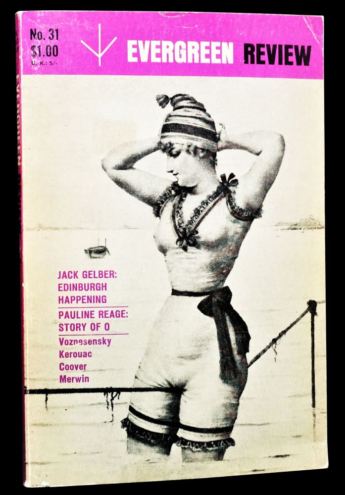 Evergreen Review Vol. 7 No. 31 (October-November 1963). Barney Rosset, Richard Brautigan, Sabine...