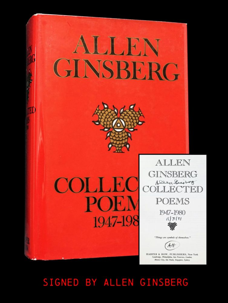 Collected Poems 1947-1980. Allen Ginsberg