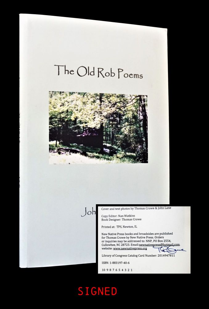The Old Rob Poems. John Lane