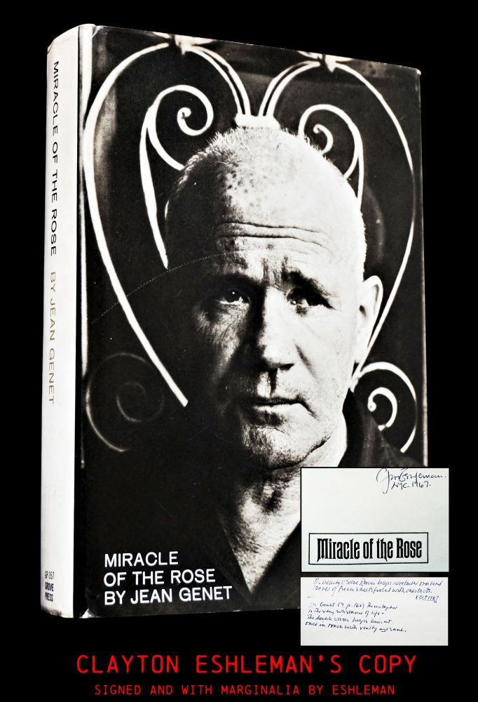 Miracle of the Rose. Jean Genet.