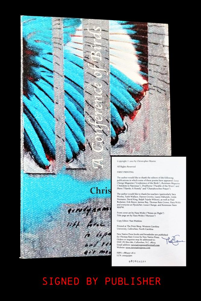 A Conference of Birds. Christopher Martin.