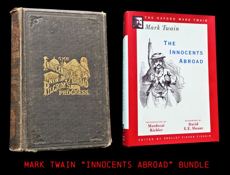 The Innocents Abroad (Two Editions). Mark Twain