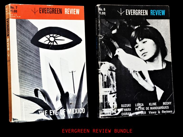 Evergreen Review Vol. 2 No. 6 (Autumn 1958) with: Vol. 2 No. 7 (Winter 1959). Barney Rosset,...