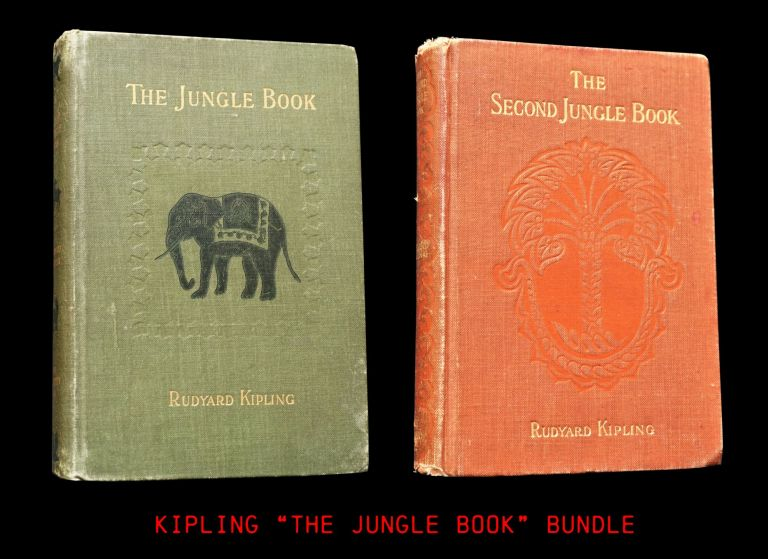 The Jungle Book with: The Second Jungle Book. Rudyard Kipling