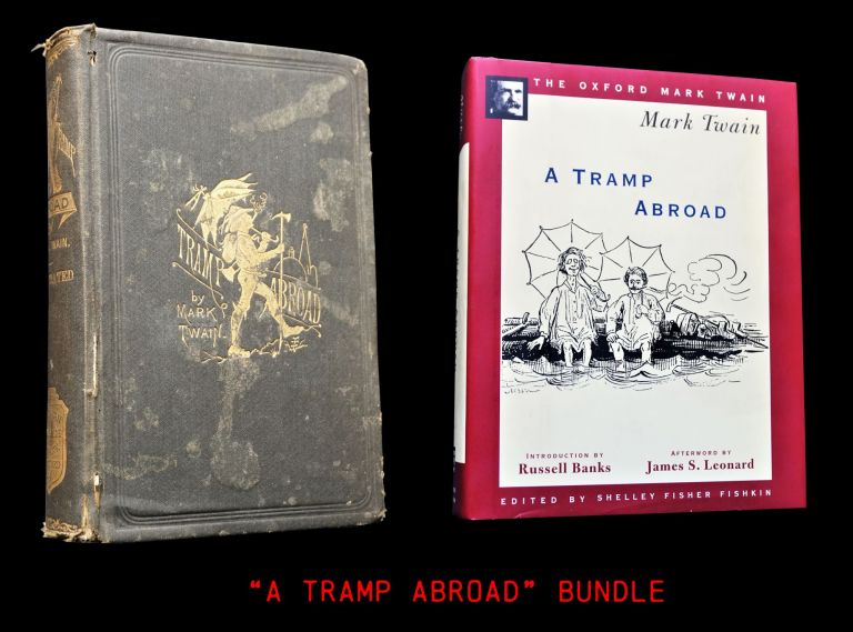 A Tramp Abroad (Two Editions). Mark Twain