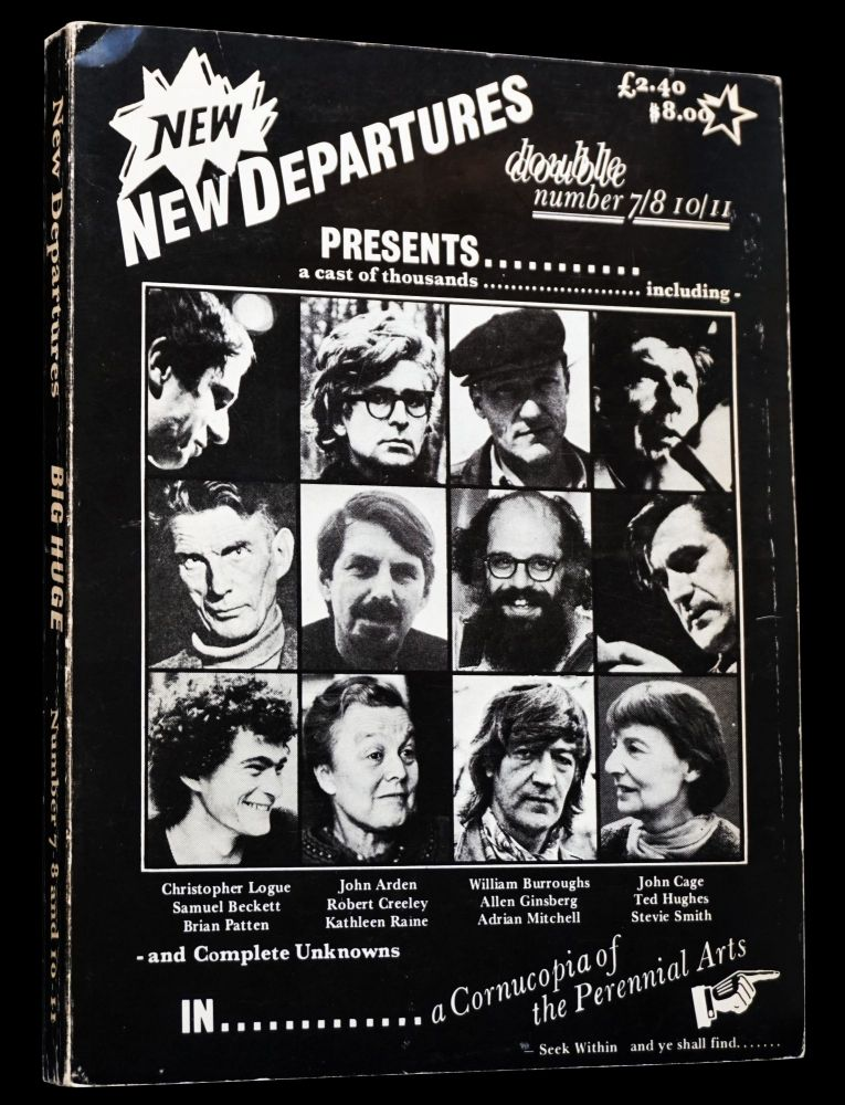 New Departures No. 7-8 & 10-11. Michael Horovitz, Samuel Beckett, William S. Burroughs, John...