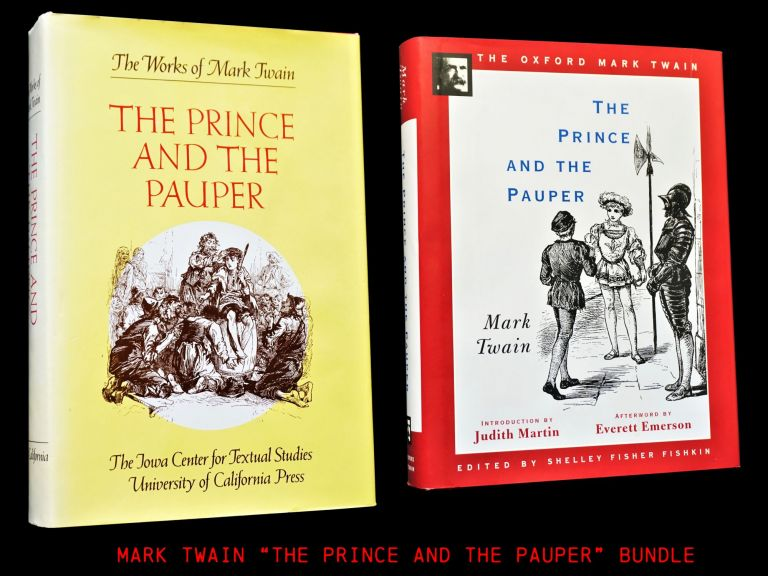 The Prince and the Pauper (Two Editions). Mark Twain