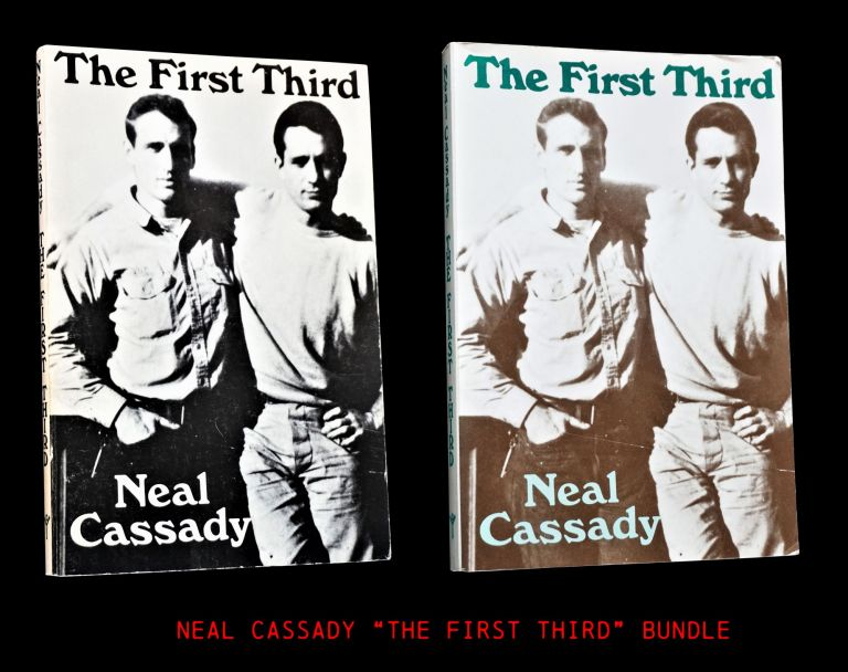 The First Third (Two Editions). Neal Cassady.