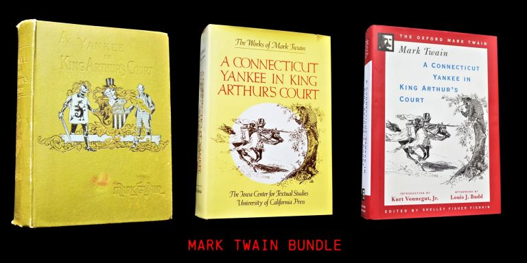 A Connecticut Yankee in King Arthur's Court (Three Editions). Mark Twain