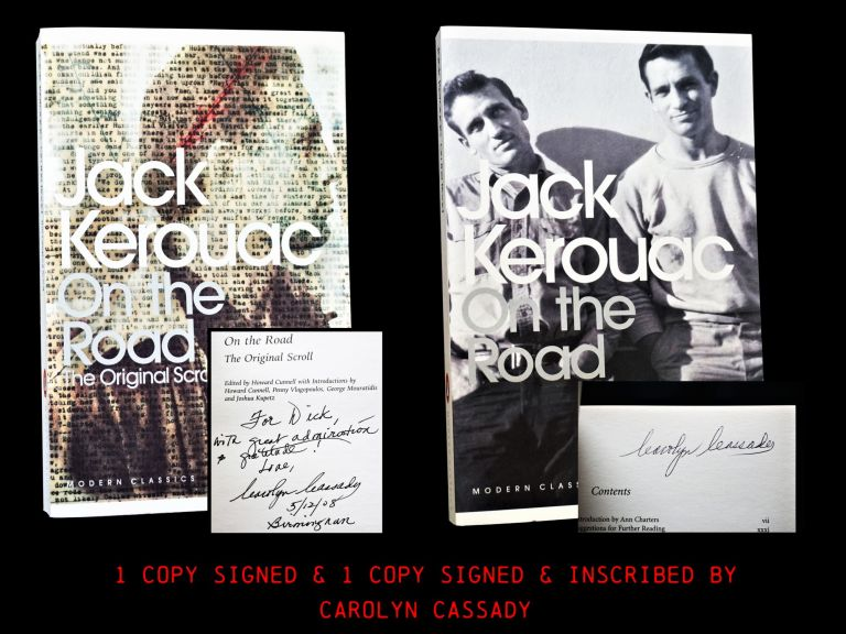 On the Road (Two Editions). Jack Kerouac.