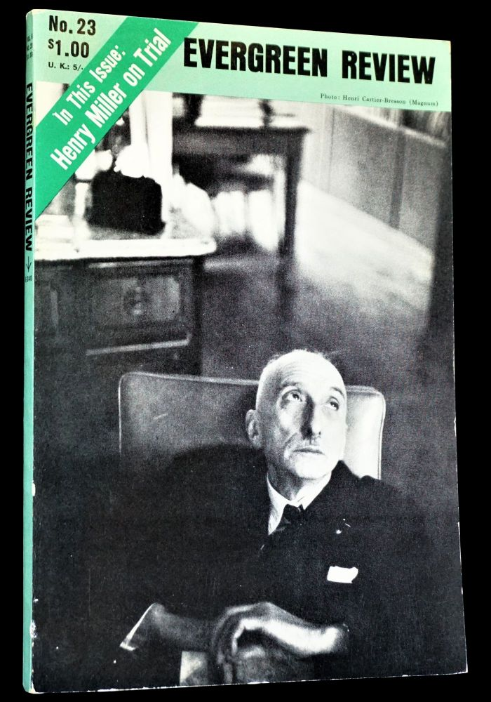 Evergreen Review Vol. 6 No. 23 (March - April 1962). Barney Rosset, Donovan Bess, Gregory Corso, John Lewis, Henry Miller, Harold Norse, Martin Williams.