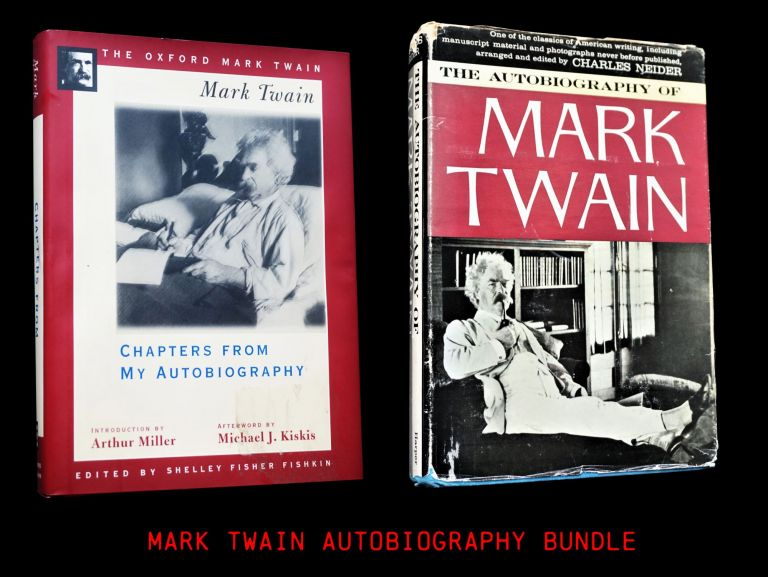 The Autobiography of Mark Twain with: Chapters from My Autobiography. Mark Twain.