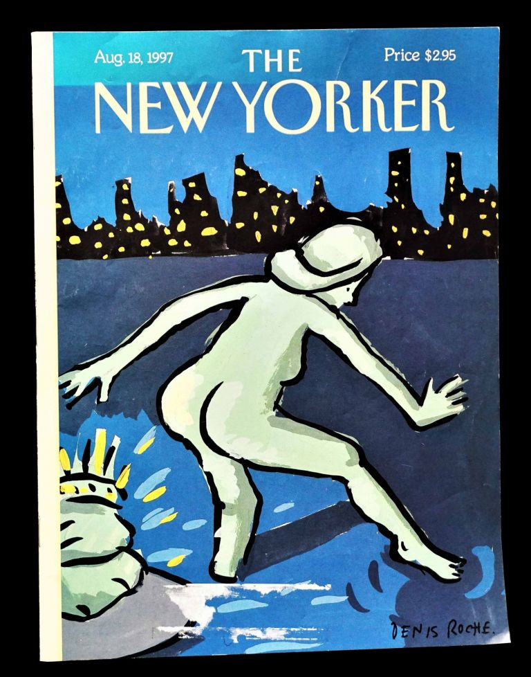 The New Yorker Vol. LXXIII No. 24 (August 18, 1997). William S. Burroughs.