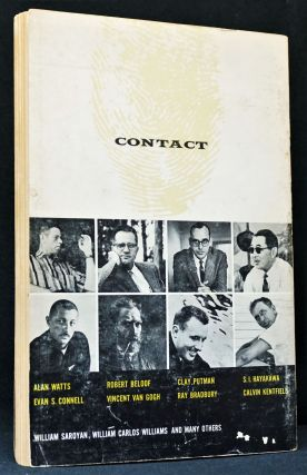 Contact: The San Francisco Journal of New Writing, Art and Ideas. Volume 1, Number 1