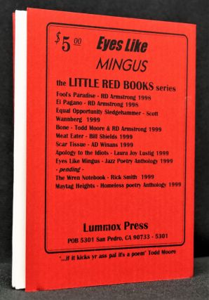 Eyes Like Mingus: An Anthology of Jazz Poetry