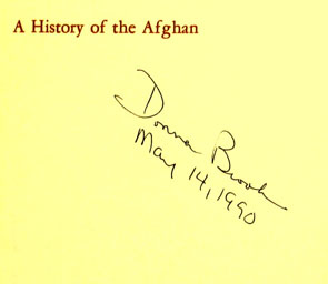 A History of the Afghan