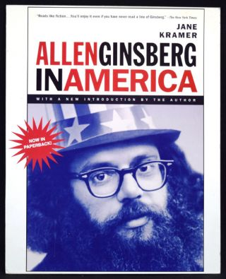 Allen Ginsberg in America, First Softcover Edition; with: Promotional Board for New Edition
