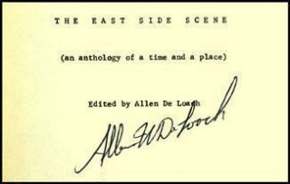 The East Side Scene (an anthology of a time and a place)