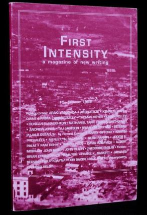 First Intensity: A Magazine of New Writing, #3- Summer 1994