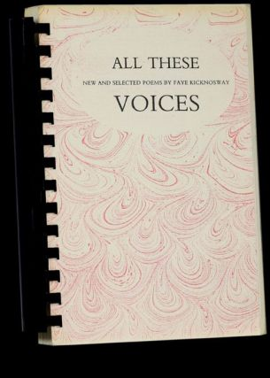 All These Voices: New and Selected Poems