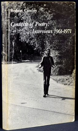 Contexts of Poetry: Interviews 1961-1971