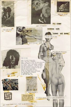 NADA: Original Collage Artwork by Charles Plymell, Created & Completed at 1403 Gough St., San Francisco While Living with Neal Cassady