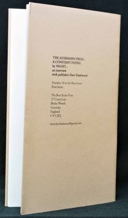 The Auerhahn Press: A Constant Flying by Night