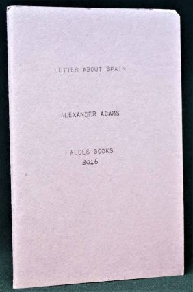 Letter About Spain