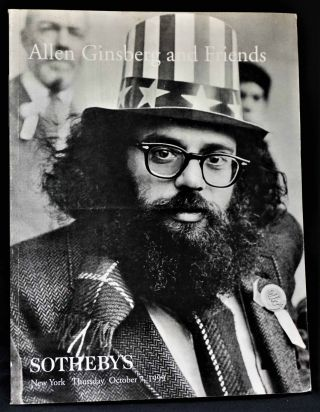 Auction Catalog, Allen Ginsberg and Friends: Sotheby's, New York, Thursday October 7, 1999 with: Bonus Item