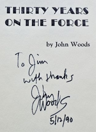 """Thirty Years on the Force with: Unpublished Essay, """"Sitting Down in the Profession or In Training for Olympus"""""""