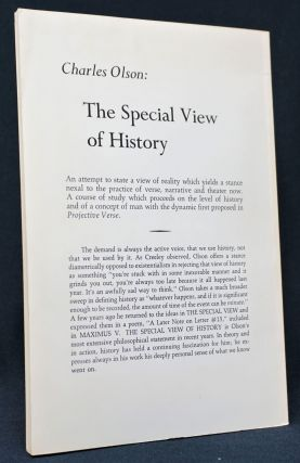 The Special View of History