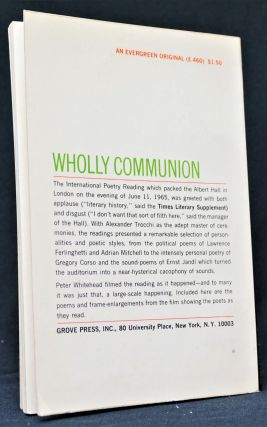Wholly Communion: International Poetry Reading at the Royal Albert Hall