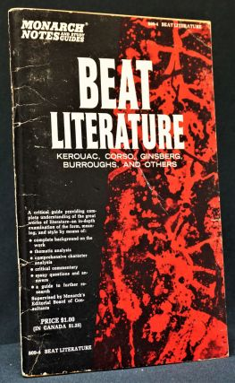 Beat Literature: Kerouac, Corso, Ginsberg, Burroughs and Others