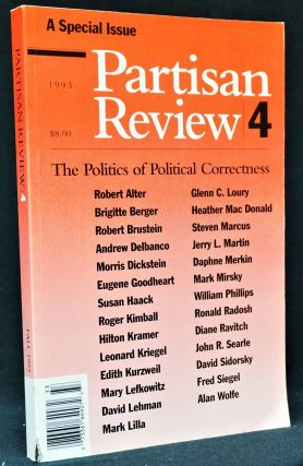 Partisan Review, Vol. LX, No. 4, 1993