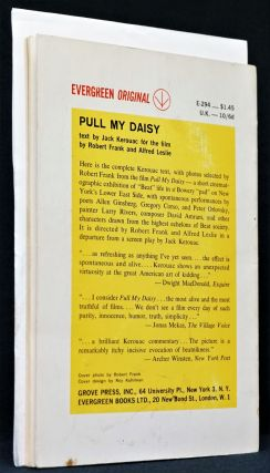 Pull My Daisy: Text by Jack Kerouac for the Film by Robert Frank and Alfred Leslie